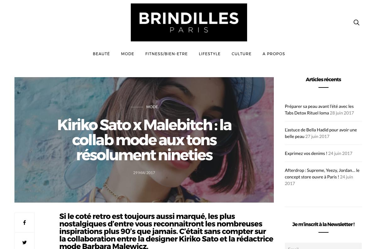 Brindilles Kiriko Sato x Malebitch