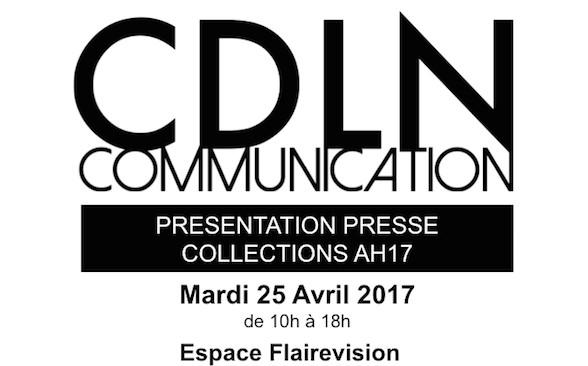Présentation Presse AH17 CDLN Communication