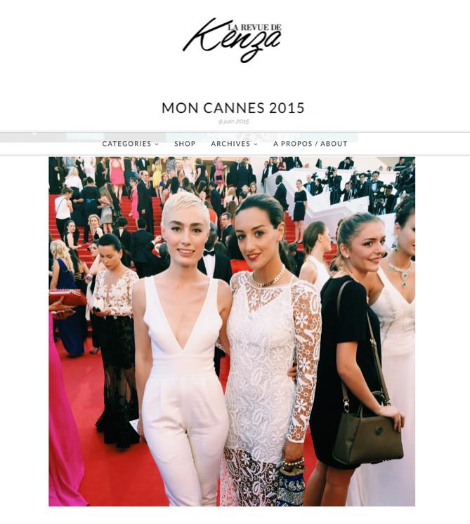 La Revue de Kenza Mon Cannes 2015