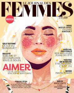 LE JOURNAL DES FEMMES couv. ETE 2018