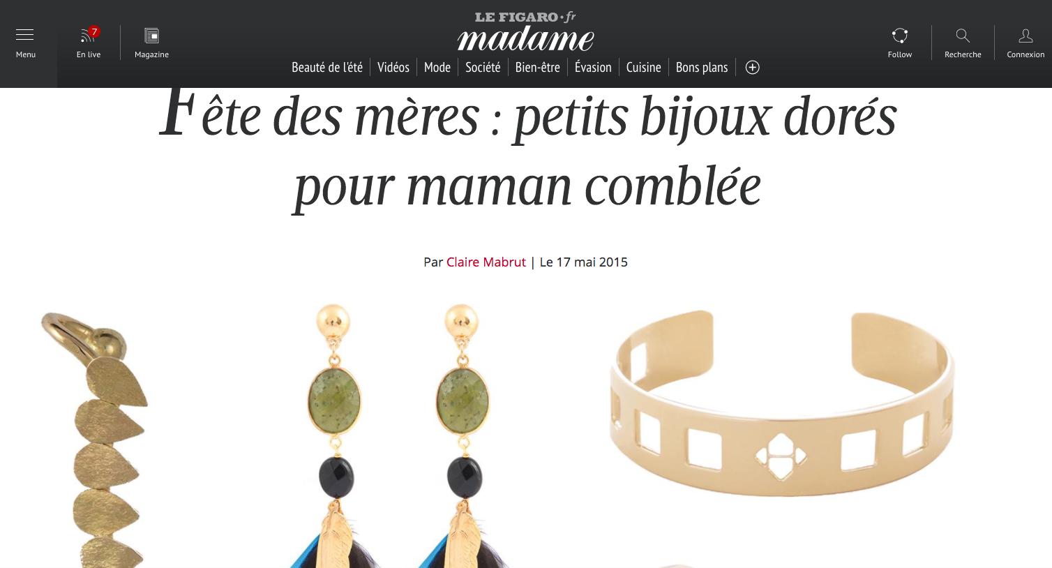 Le Figaro Madame Fête des mères