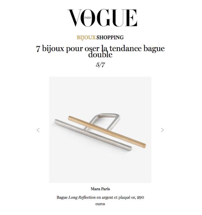 VOGUE- MARA PARIS 16.03.18