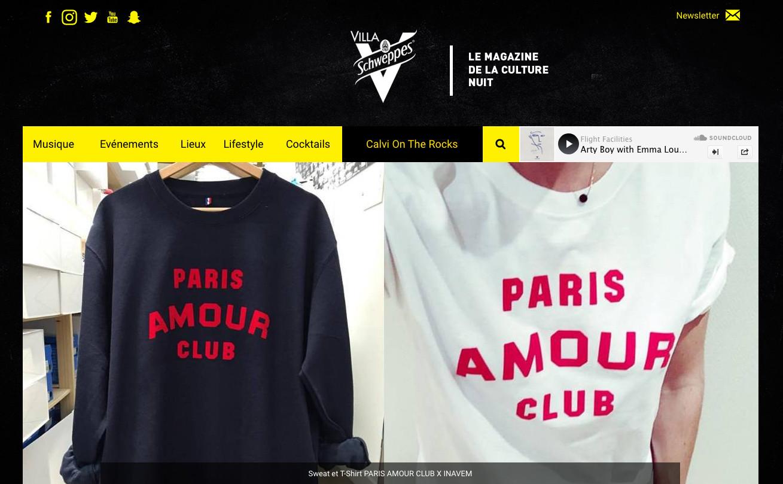 Villa Scheppes Caravan Paris amour Club